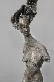 """Musae"", h 60 cm, bronzo e resina"