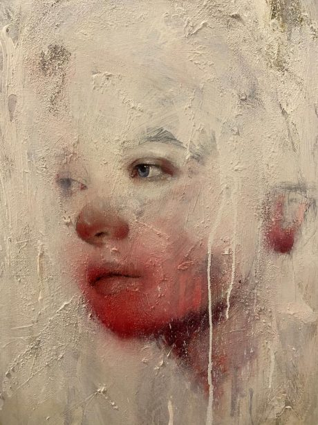 """Tra i Silenzi"", 80 x 60, Olio su tela, 2020"