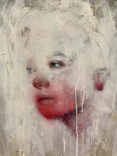 """""""Il cuore tra la nebbia"""", 80 x 60 cm, Olio su tela"""