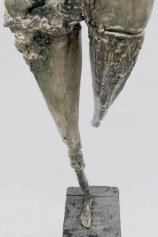 """""""Voi errate in alto nella luce"""", h.1,60cm, bronzo, cera persa, esemplare unico."""