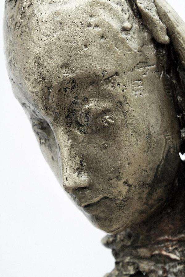 """""""Cadenza imperfetta"""", h.1,70m, bronzo, fusione a cera persa, esemplare unico"""
